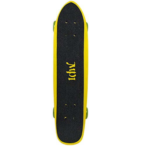 MPI NOS Complete Fiberglass Wide Tail Skateboard with Grip, 6.75