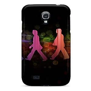 AlainTanielian Samsung Galaxy S4 Shock Absorption Hard Phone Case Provide Private Custom Colorful The Beatles Image [niy4277lndb]