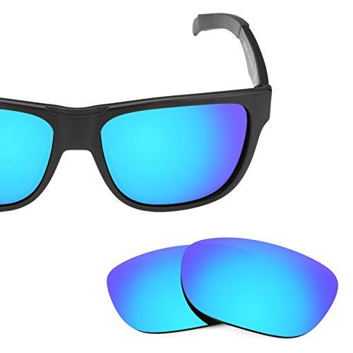 Verres de rechange pour Smith Lowdown — Plusieurs options Polarisés Elite Bleu Glacier MirrorShield®