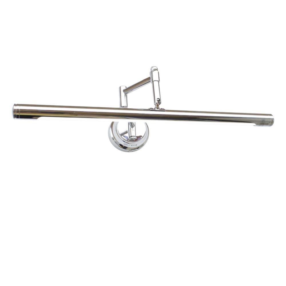 Aglia UK Einfacher LED-Spiegelscheinwerfer-Badezimmerbadezimmer-Spiegelkastenlampe, die drehbares wasserdichtes Spiegelkabinettlicht faltet