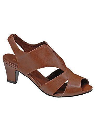 Beacon Women's Adult Angel Steps Janis Pumps Shoes Dress Shoes 12 Medium US Women/Brown