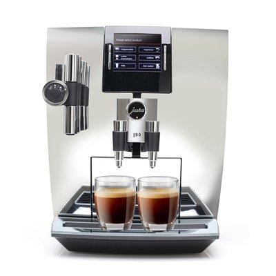 Jura Capresso Automatic Coffee Maker - Jura J90 Automatic One-Touch Coffee Machine Chrome