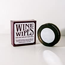 Wine Wipes, Red Wine Stain Remover, 2 Compacts with 30 Wipes