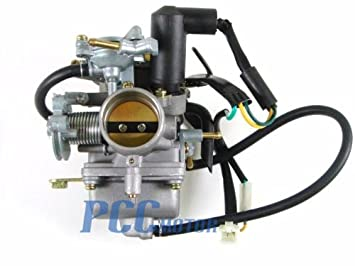 Amazon.com: 2LA 250CC CARBURETOR CARB CA11 GO KART QUADATVSCOOTER ...