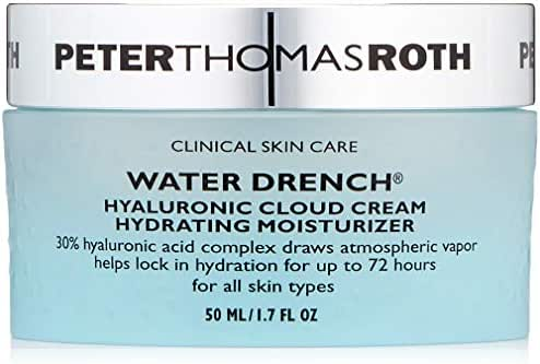 Peter Thomas Roth Water Drench Hyaluronic Cloud Cream Hydrating Moisturizer, 50 Milliliter / 1.7 Fluid Ounce