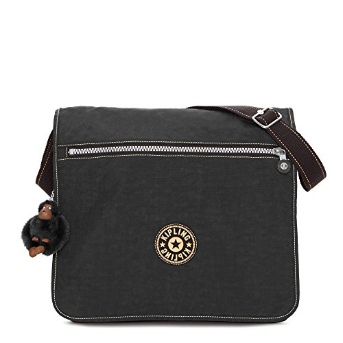 Kipling Women's Madhouse Messenger Bag One Size Black by Kipling