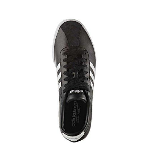Courtset Core Mujer Black De matte Adidas Para ftwr W Zapatillas Deporte Silver White Awd0xBq8