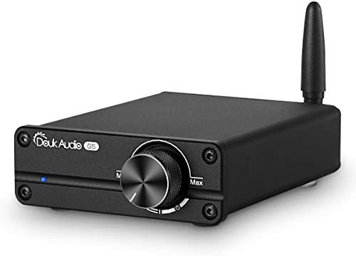 Douk Audio G5 100W Bluetooth 5.0 2 Channel Amplifier Mini Digital Class D Stereo Audio Power Amp Wireless Receiver Black