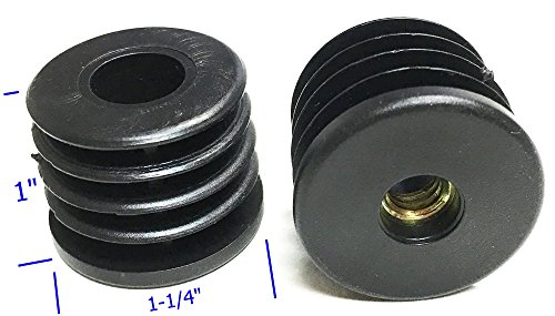 Oajen caster socket furniture insert for quot thread