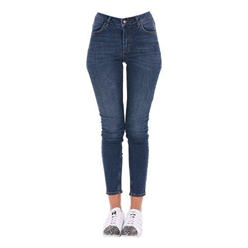 FiveUnits Femme 2052534202308 Bleu Coton Jeans