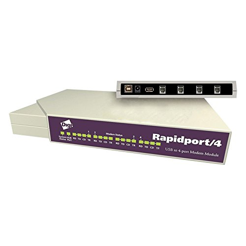 Rapidport/4 4 V.90 Modems Rj-11multi-modem by Digi (Image #1)