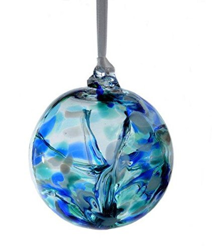 Witch or Spirit Ball in a Blue Color -
