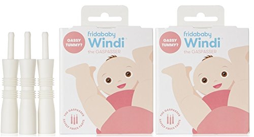 Windi The Gaspasser 20 Count/Pack of 2 - The All-Natural Solution for Baby Colic and Gas Relief by Fridababy by FridaBaby