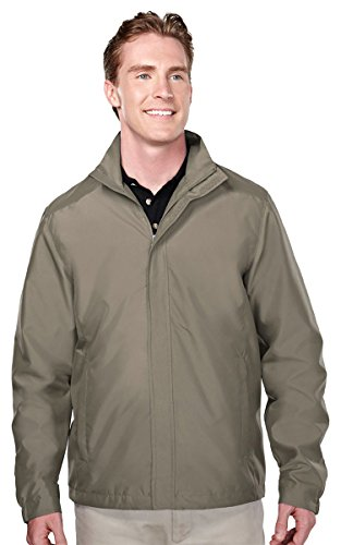 Tri-mountain Mens 100% Polyester woven long sleeve jacket with 600mm coating 6880 - (Woven Long Sleeves Jacket)