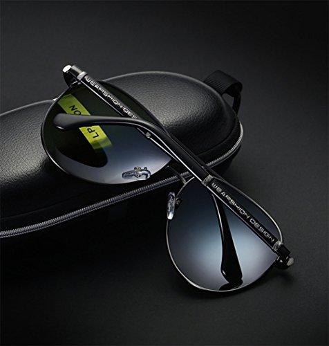 Sunglasses Blackgoldframe Gafas Fashion YYTT Brand Men's Sol De Sra Polarizadas blackandsilverframe a81O8