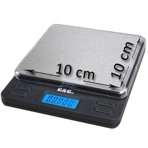 42 opinioni per GundG LS- Bilancia digitale di precisione tascabile, per cucina / oro / monete,