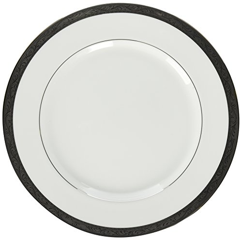 Mikasa Crown Jewel Dinner Plate, - Plate Crown Dinner Platinum