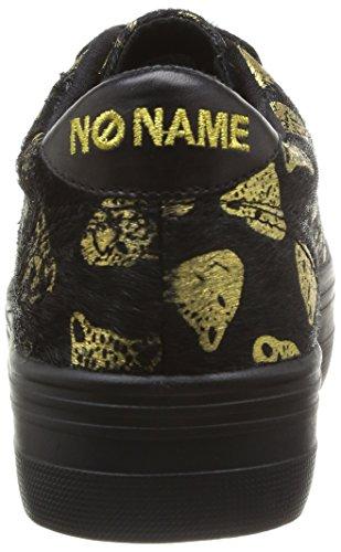 Plato Femme Mode No Sneaker black gold Tiger Name Baskets Noir gxYw5qSFY