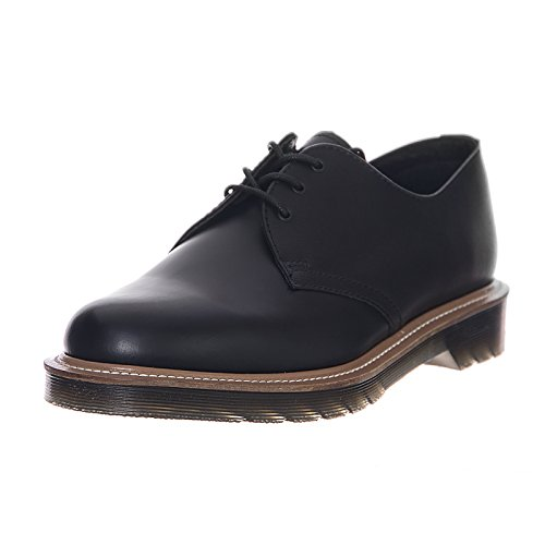 Dr. Martens 1461 Straw Black Smooth