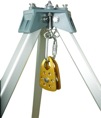 3M Protecta PRO AK020A1 Confined Space Pulley For Tripod, with Self Closing/Locking Carabiner, Fits Up To 1/2