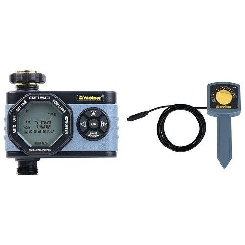 Value Bundle - Melnor HydroLogic Digital Water Timer & Soil Moisture ()