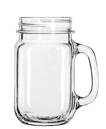 with Handle, 16 -Ounce, Set of 12 ()