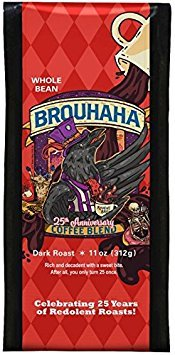 Raven's Brew 25th Anniversary Brouhaha Coffee Blend - 11 oz, Whole Bean
