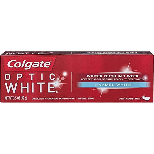 Colgate Optic White Toothpaste Enamel 3.5Oz