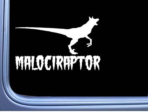 EZ-STIK Malociraptor M393 8 inch Sticker Belgian Malinois Decal schutzhund maligator (Belgian Malinois Sticker)