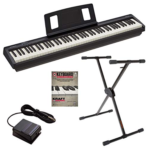 Roland FP-10 Digital Piano with Roland KS10X