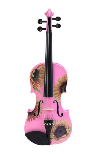 Rozanna's Violins Sunflower Delight Pink Violin Outfit 4/4 B00871P7CK