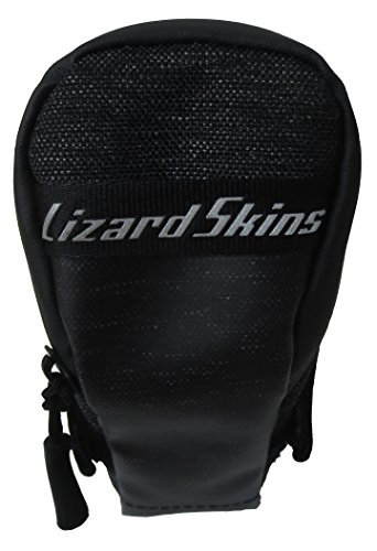 Lizard Skins Micro Cache Saddle Bag Jet Black, One Size