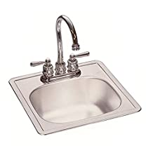 Franke Kindred 1634-7007 FBS602N Stainless Steel Bar Sink