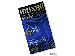 Maxell S-vhs T-120 Vhs Tape (1-pack) (Discontinued By Manufacturer)