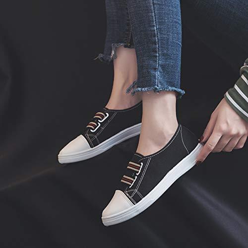 Taille Chaussures couleur Qiusa Noir Blanc Eu 40 qr6rtB