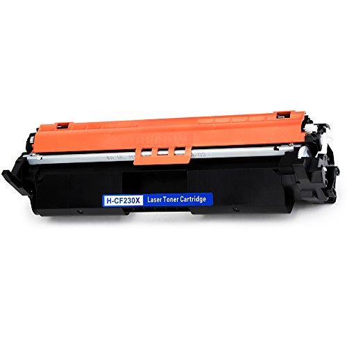 OSIR 1-Black Compatible for HP 30X CF230X 30A CF230A Toner Cartridge, Use on HP Laserjet Pro M203dw M203dn M203d MFP M227fdw M227fdn M227sdn Printer by OSIR