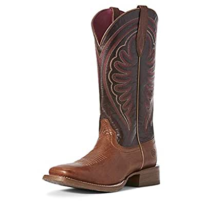 79b072ce072 Image Unavailable. Image not available for. Color  ARIAT Women s Circuit  Shiloh Western Boot Nomad Brown ...