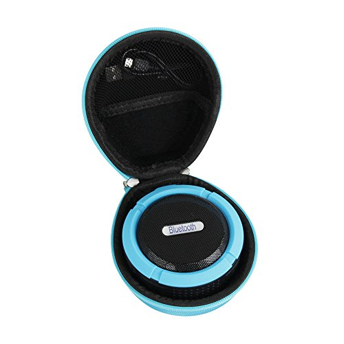 Hermitshell Hard Case for VicTsing Shower Speaker Wireless Waterproof Speaker (Blue)