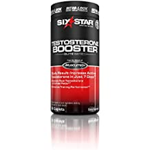 Six Star Testosterone Booster Supplement, Extreme Strength, Enhances Training Performance, Scientifically Researched, Maintain Peak Testosterone, 60 Caplets