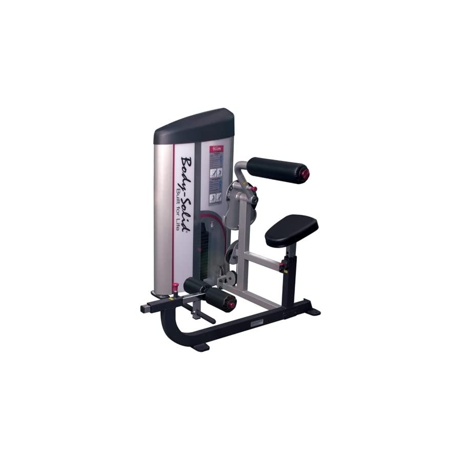 Body Solid S2ABB/2 Pcl2 Ab/Back 235lb Stack Machine