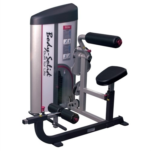 Body Solid S2ABB2 ProClub Line Series 2 Ab/Back Machine with 11 Gauge Steel Construction and Instructional Placards 235 Pound