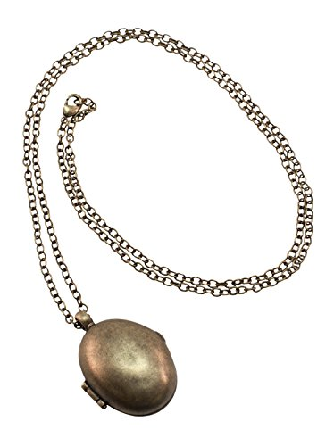 elope Tina Goldstein Costume Locket Necklace for Women -