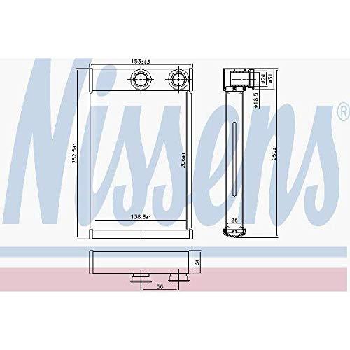 NISSENS 72669 Heating Nissens A/S