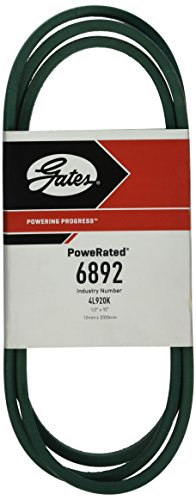 Gates 6892 PoweRated V-Belt, 4L Section, 1/2
