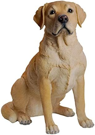 Hi-Line Gift Ltd Labrador Retreiver Sitting Statue
