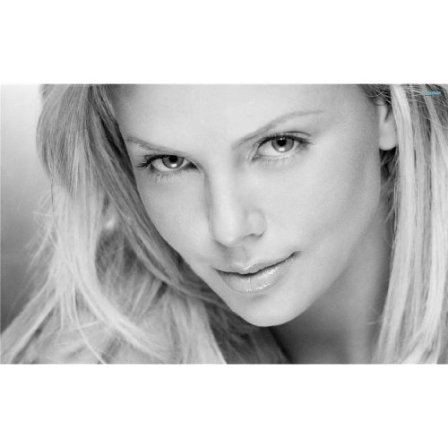 Charlize Theron Poster On Silk 657FD3