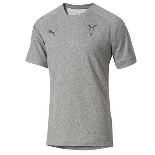 ed1368b8eaf Amazon.com  Puma Men s Chivas 2017 18 Casual Tee Gray  Sports   Outdoors