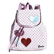 Kids Girl's Heart Dot Backpack