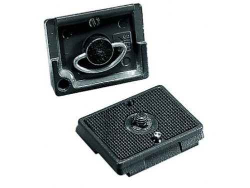 Manfrotto 200PL-38 RC2 Rapid Connect Mounting Plate with 3/8-Inch Screw (Gray)