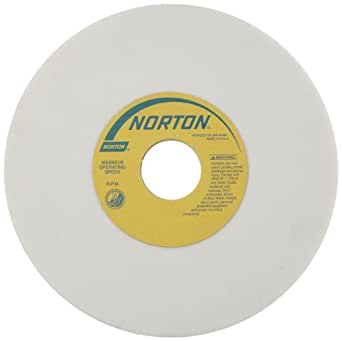 Aluminum Oxide 1-1//4 Arbor Grade I 60 Grit Pack of 1 7 Diameter x 1//2 Width Purple Norton 32A60-IVBE Type 01 Vitrified Straight Toolroom Grinding Wheel